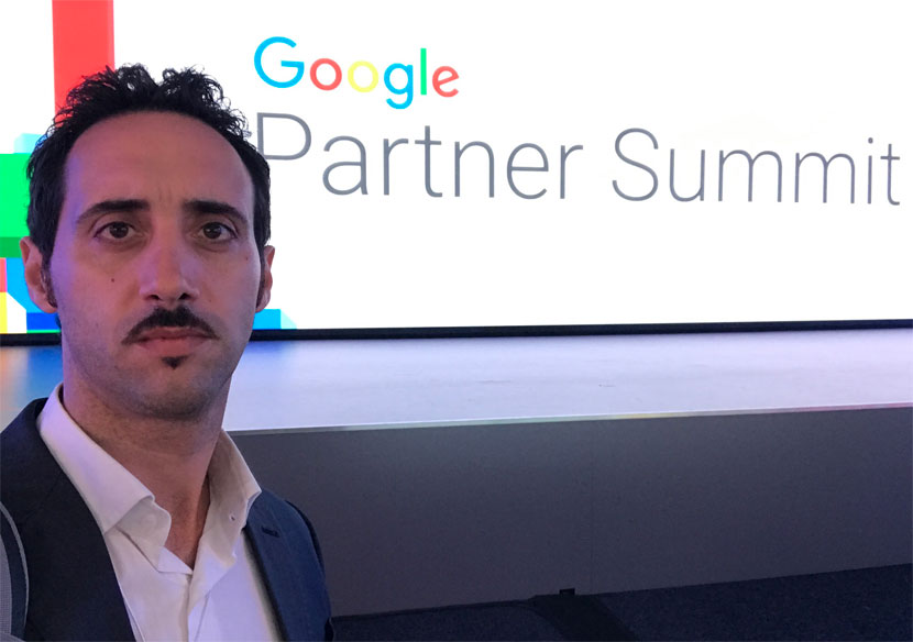 luigi-sciolti-google-partner-summit